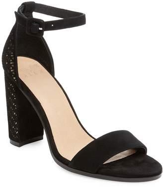ALEX+ALEX Women's Two Strap Sandal with Laser Heel