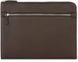 Graf Von Faber Castell Leather Zipped Pouch