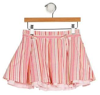 Cacharel Girls' Striped A-Line Skirt