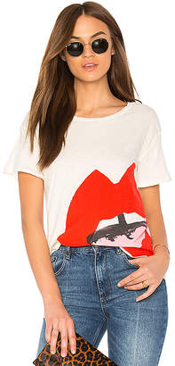 Junk Food Clothing Donald Robertson Open Mouth Tee