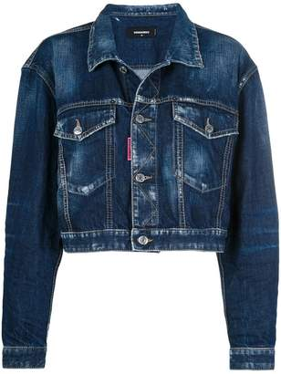 DSQUARED2 Be Nice cropped denim jacket