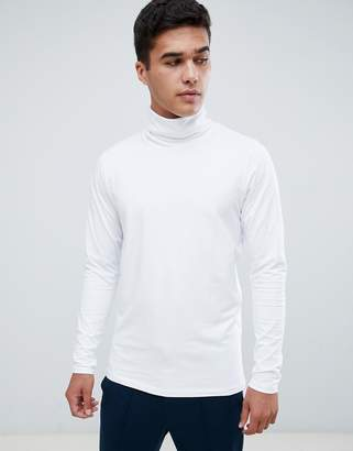Jack and Jones roll neck long sleeve top