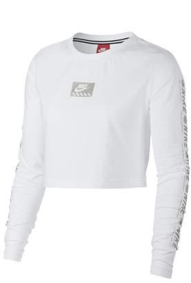 Nike Women's Sportswear Long Sleeve Crop Top