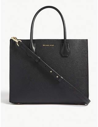 MICHAEL Michael Kors Mercer Accordion leather tote bag