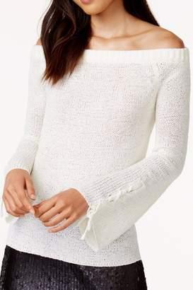 MinkPink Off Shoulder Sweater