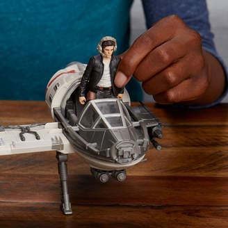 Star Wars STARWARS Force Resistance Ski Speeder And Captain Poe Dameron Figure