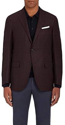Ermenegildo Zegna Men's Milano Easy Plaid Wool Two-Button Sportcoat