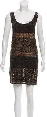 Ralph Lauren Embellished Silk Dress w/ Tags