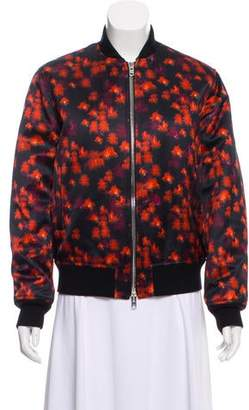 Givenchy 2016 Floral Print Bomber w/ Tags