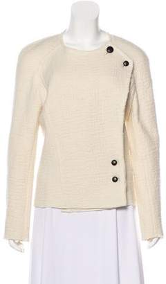 Isabel Marant Virgin Wool Collarless Jacket