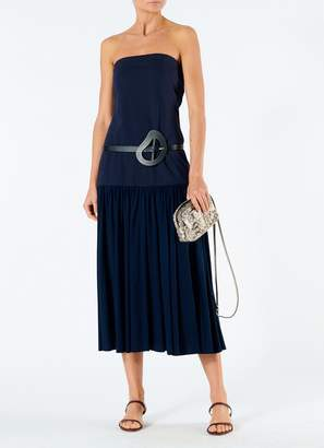 Tibi Punto Milano Strapless Dress