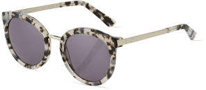Oscar de la Renta O By Duo-Tone Round Combo Sunglasses
