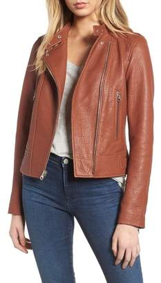 Derek Lam 10 Crosby Asymmetrical Leather Moto Jacket