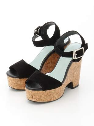SLY (スライ) - スライ CORK WEDGE SANDAL