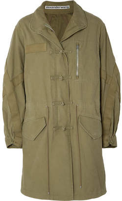 Alexander Wang Cotton Jacket - Army green