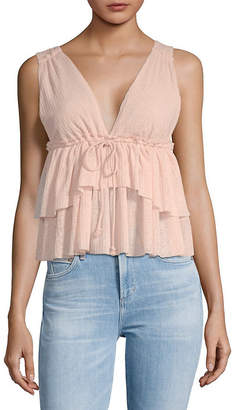 See by Chloe Tiered Babydoll Tank Top