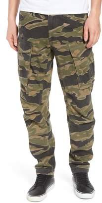 G Star Rovic Camo Print Denim Cargo Pants