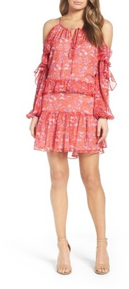 Women's Adelyn Rae Cold Shoulder Dress $110 thestylecure.com