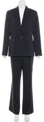 Tahari Arthur S. Levine Pinstripe Pants Suit