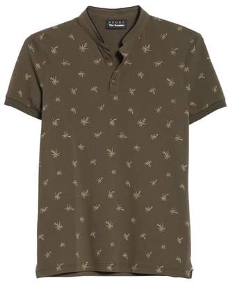 The Kooples Palm Tree Print Henley