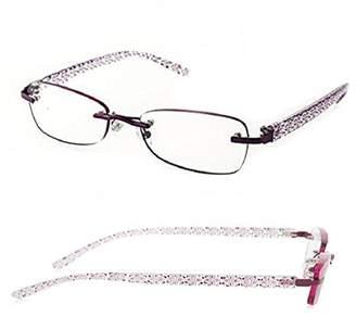 Foster Grant 2 Pairs Woan's Daniella Riless Reading Glasses (, +1.25)
