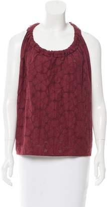 Marni Sleeveless Textured Top