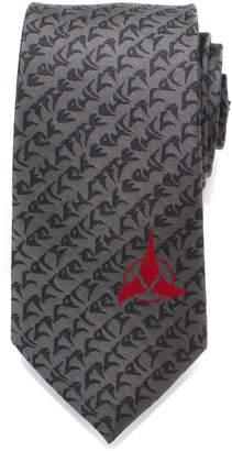 Cufflinks Inc. Cufflinks, Inc. Klingon Silk Tie