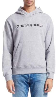 G Star Loaq Hooded Logo Sweatshirt