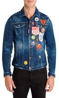DSQUARED2 Dan Distressed Jacket
