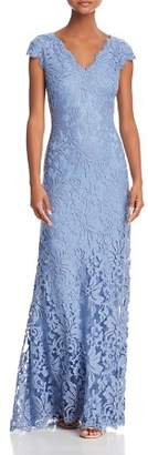 Tadashi Shoji Scalloped Lace Gown - 100% Exclusive
