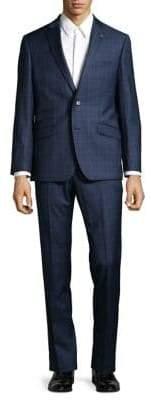Ted Baker No Ordinary Joe Joey Glen Plaid Wool Suit