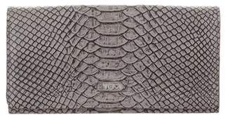 Tumi Embossed Leather Wallet