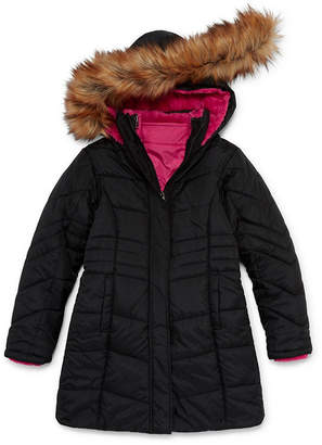 Arizona Heavyweight 3-In-1 System Jacket-Girls 4-16