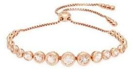 Saks Fifth Avenue Morganite, Diamond and 14K Rose Gold Bracelet