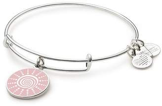 Alex and Ani Charity By Design Spiral Sun Charm Expandable Wire Bracelet