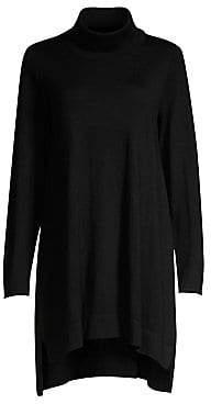 Eileen Fisher Women's Turtleneck Merino Wool Sweater