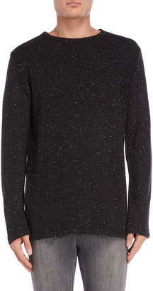 Stereo Speckled Knit Pullover