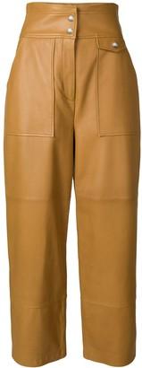 Yves Salomon high-waisted trousers