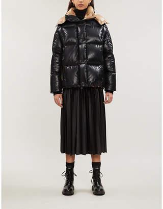 Moncler Parana hooded nylon coat