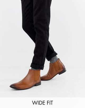 dc45f0a68716f4 KG by Kurt Geiger Kg Kurt Geiger wide fit leather chelsea boots