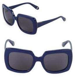 Zac Posen Mounia 54MM Square Sunglasses