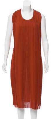 Bottega Veneta Plisse Midi Dress w/ Tags Plisse Midi Dress w/ Tags