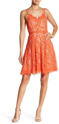 Soprano Lace Skater Dress $64 thestylecure.com