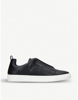 Kurt Geiger Woodstock faux-leather trainers