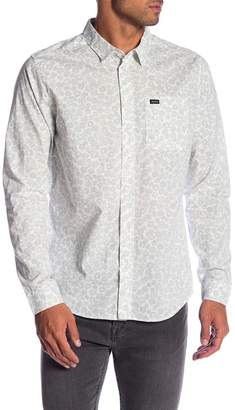 RVCA Cleta Patterned Slim Fit Shirt