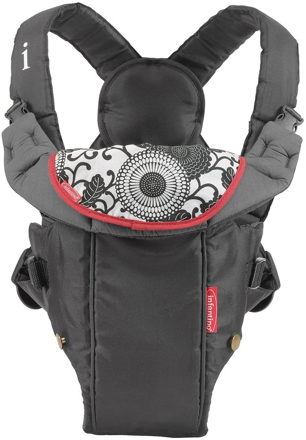 Infantino Swift Baby Carrier - Black - One Size