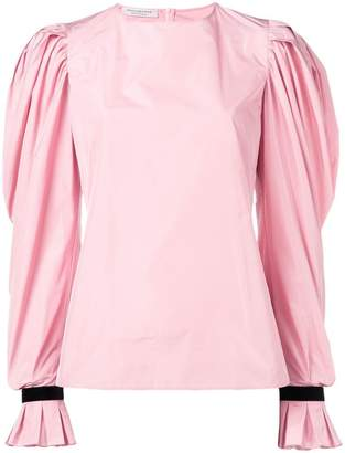 Philosophy di Lorenzo Serafini puff sleeve blouse