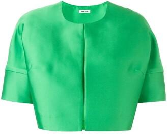 P.A.R.O.S.H. short sleeved crop length jacket