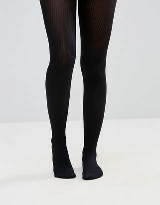 Asos DESIGN fine rib tights