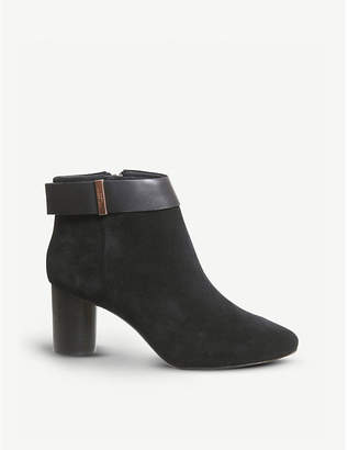 Office Mharia suede ankle boots